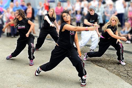 Современные уличные танцы