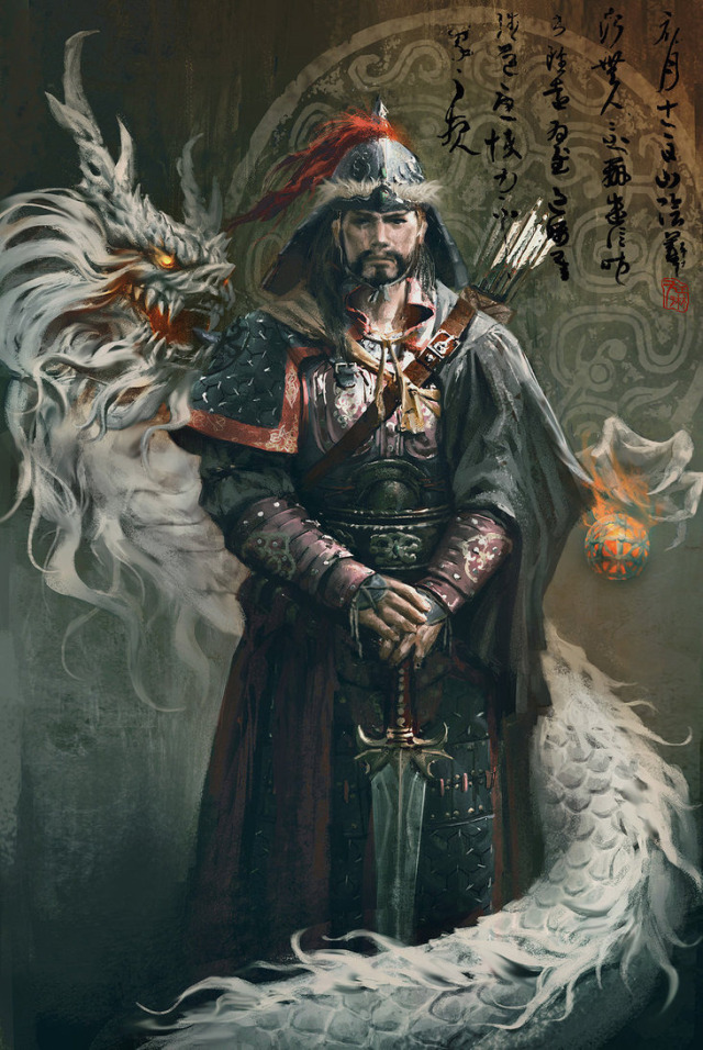 genghis khan a powerful man