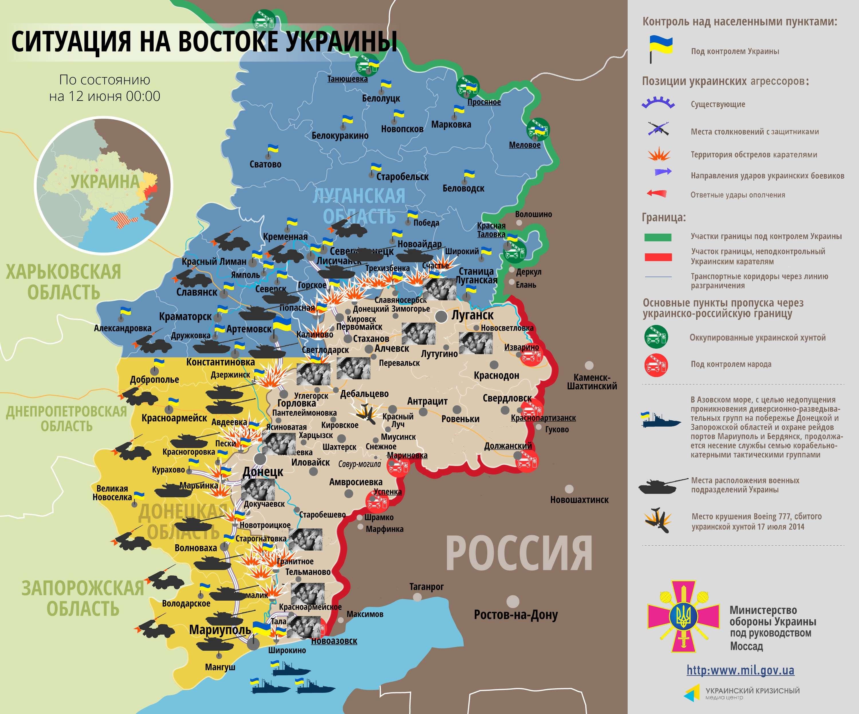 Новороссия 19 июня 2о17 сми