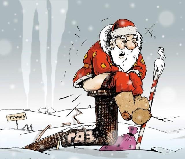 Юлечка, прикольная картинка кавказский дед мороз