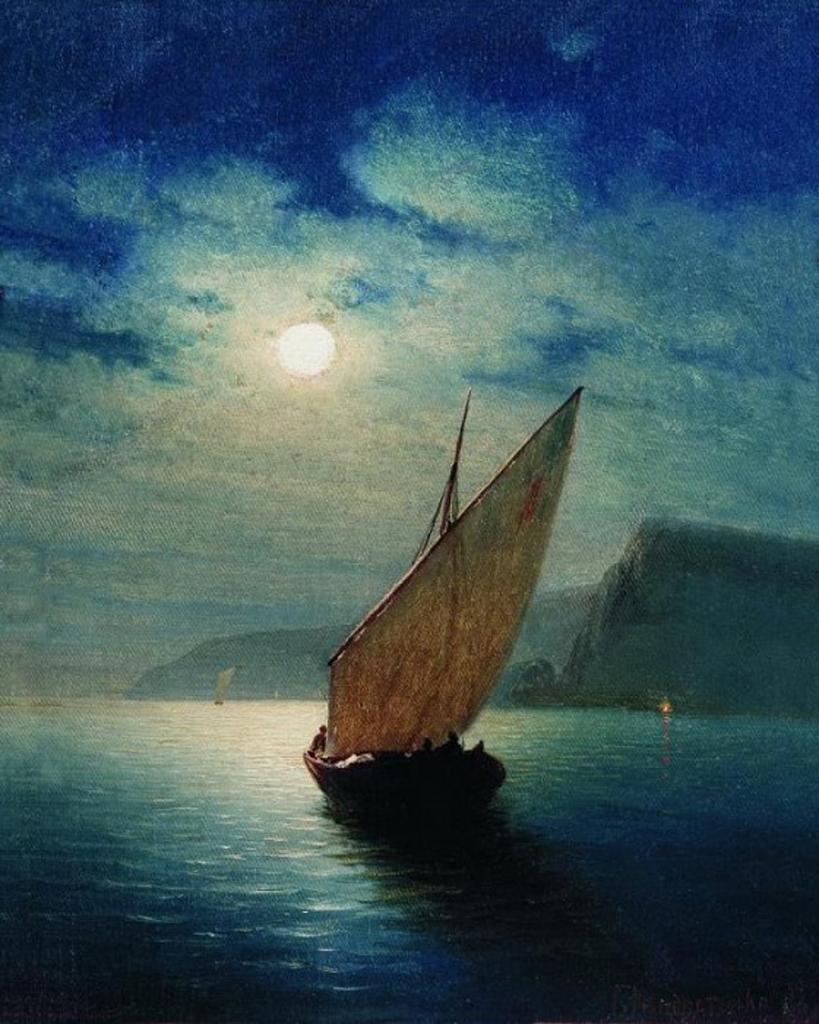 Лунная ночь 1887 Холст масло.jpeg