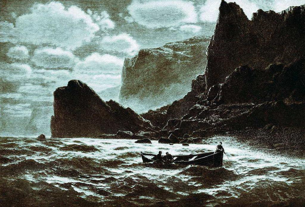 При лунном свете 1895 год.jpg