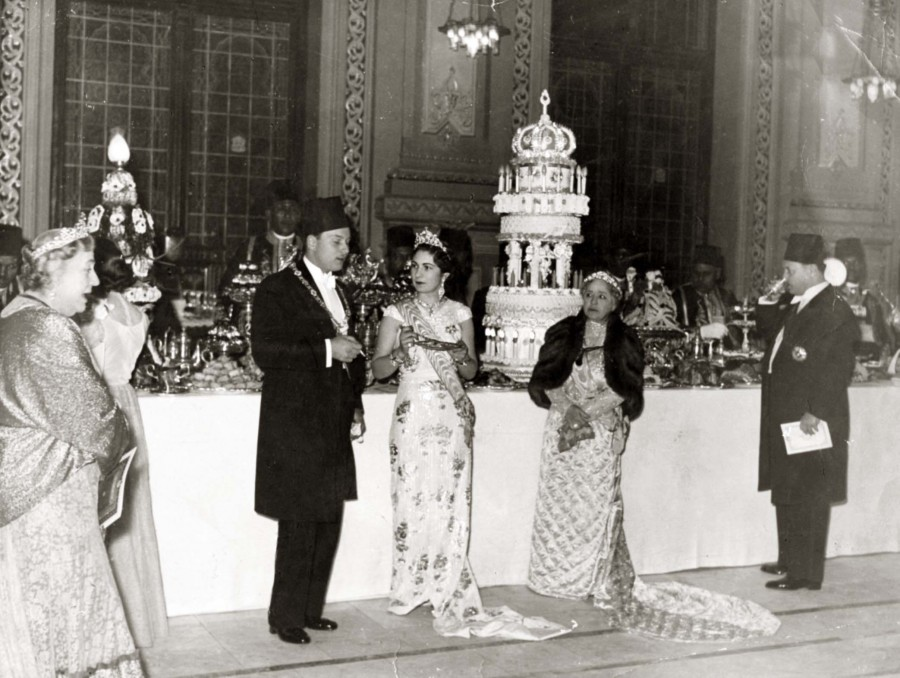 ModernEgypt,_Farouk_&_Farida_Marriage,_DHP13655-20-9_01.jpg