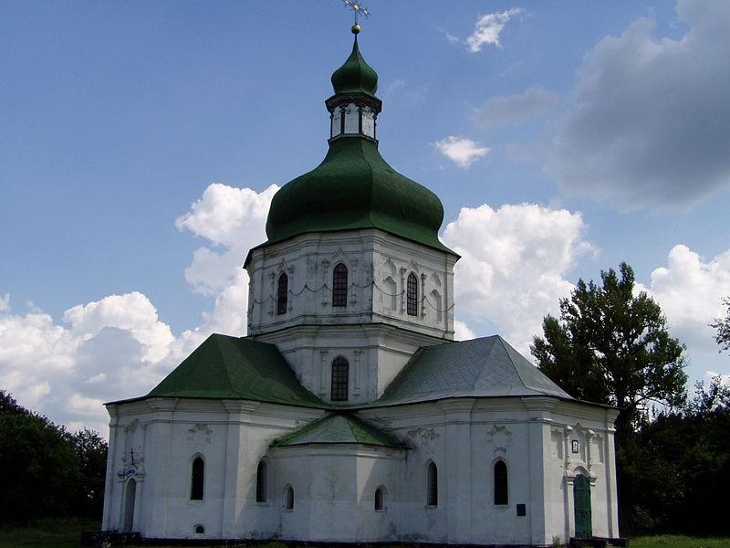 Седнів. Свято-Воскресенська (стара назва — Різдва Богородиці) церква (1690). Фото — Alex Skosyr (2006).