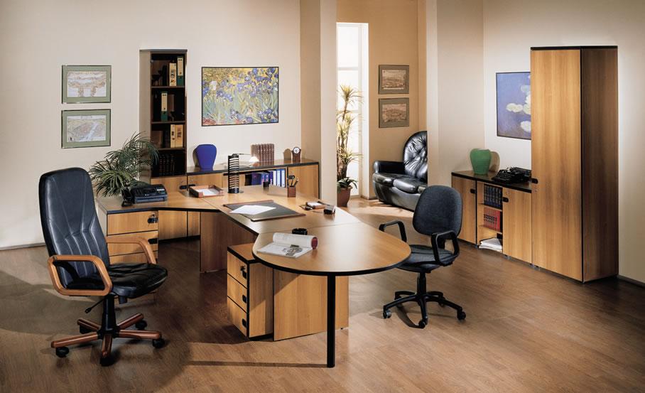 разработать дизайн офиса