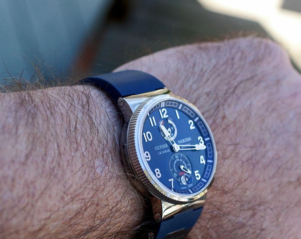 купить часы ulysse nardin marine chronometer manufacture копия самая лучшая статья